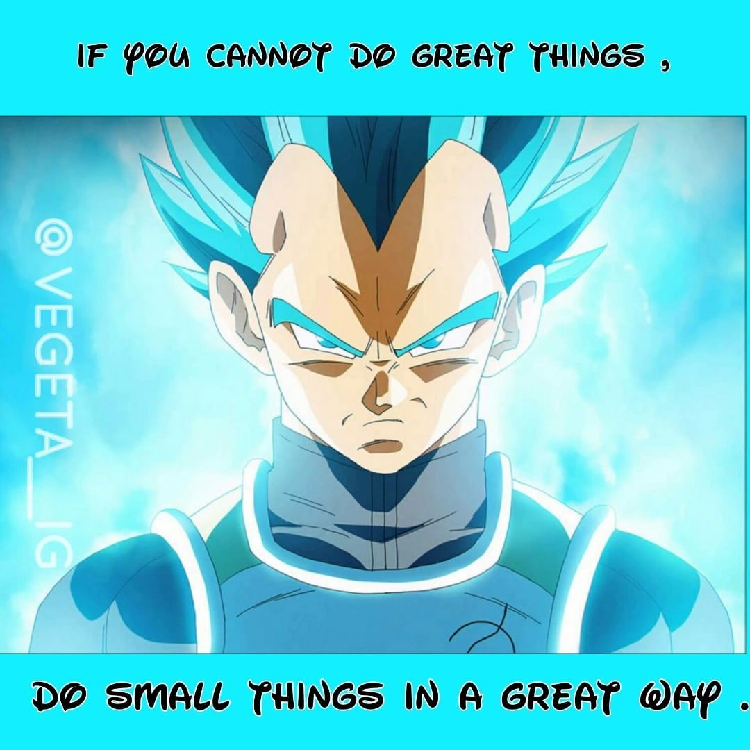 Pin by Bao Angel Princess Yu on Dragon Ball life quotes in ...