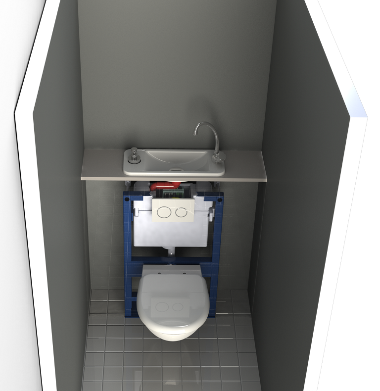 Http Www Toilet With Sink Com Space Saving Wall Mounted Toilets