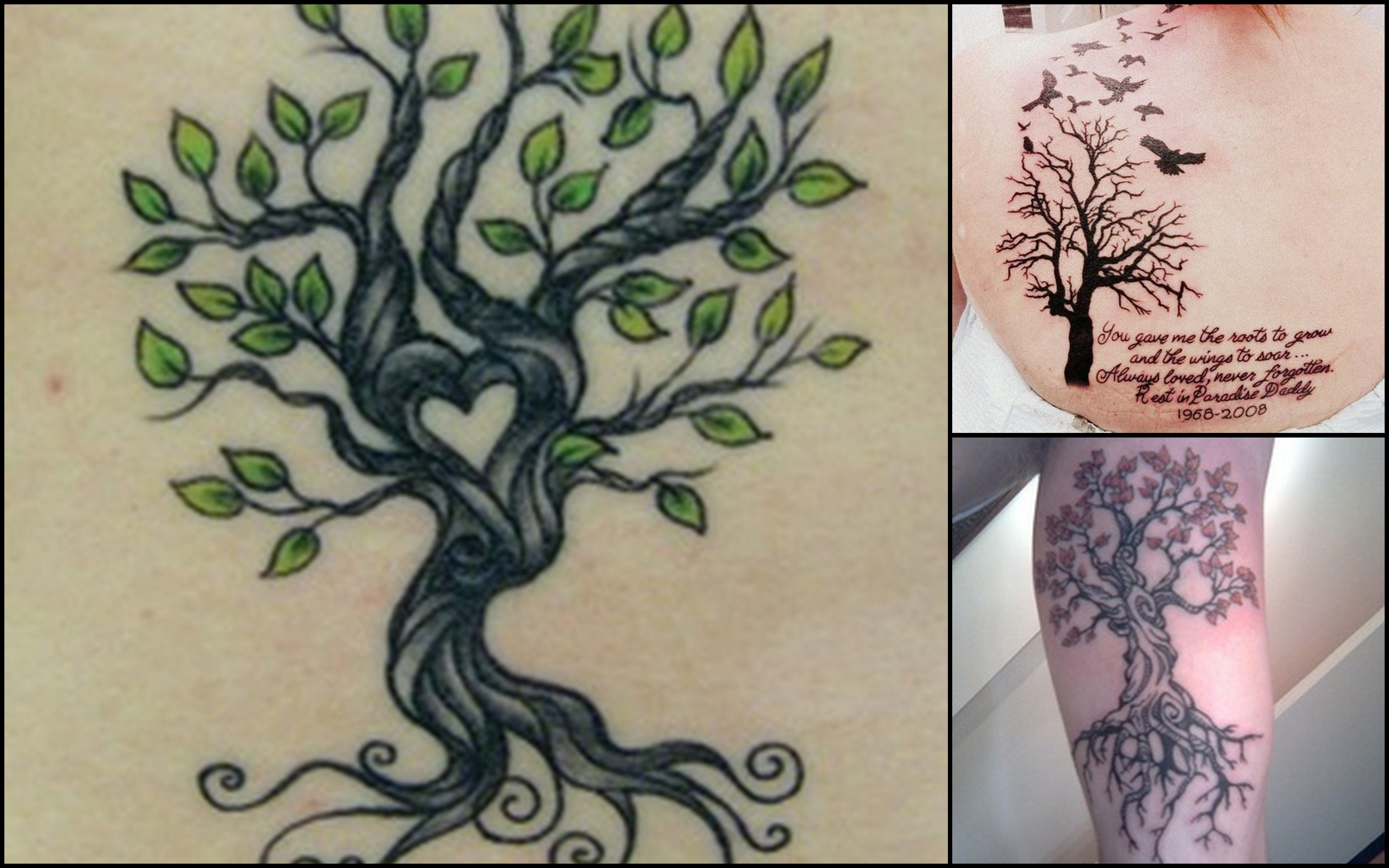 Tattoo idea to represent my family tree i want the wind for Tattoos to represent kids