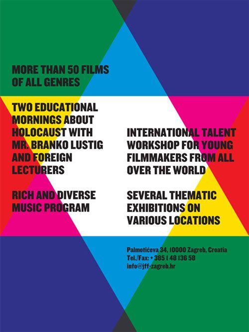 7th Zagreb Jewish Film Festival Logo Design Love Jewish Film Festival Festival Logo Logo Design Love