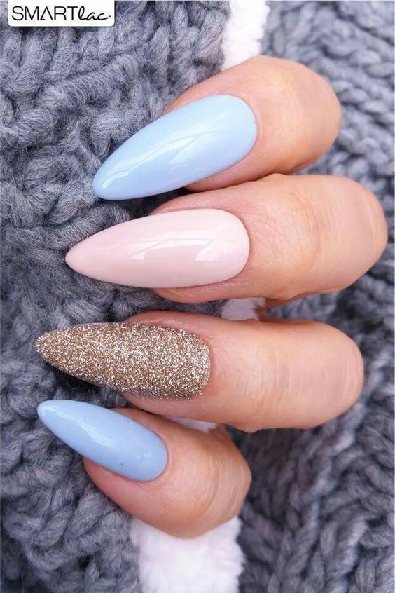 100 Trending Early Spring Nails Art Designs And Colors 2019 Unghie Pasquali Unghie Gel Idee Per Unghie