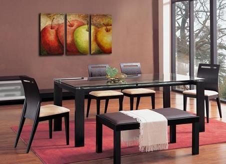 Cuadro moderno para comedor buscar con google pintura for Cuadros tripticos para comedor