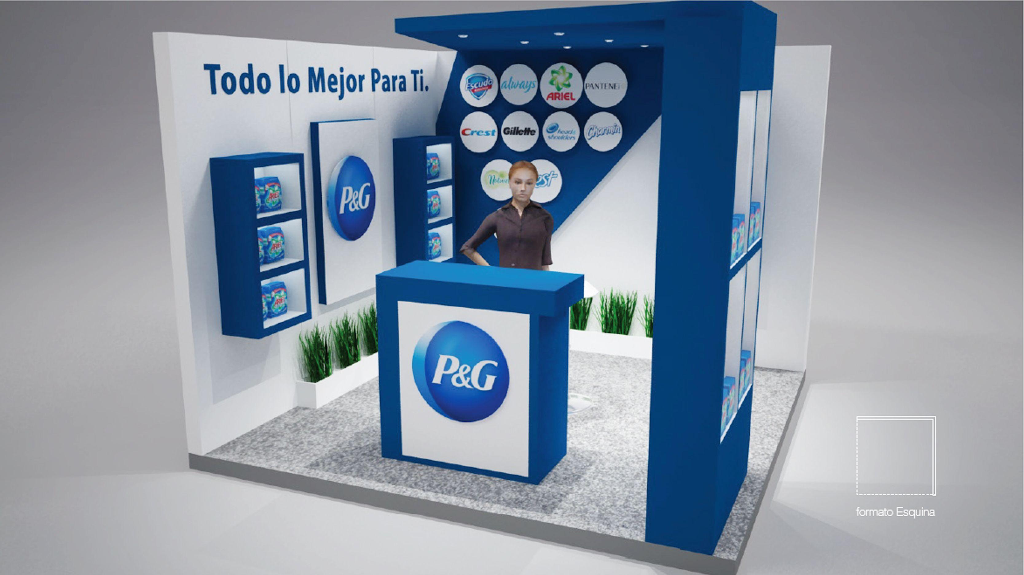 Stands pmeventos grupomiro stands p g stands de for Disenos de stand para exposiciones