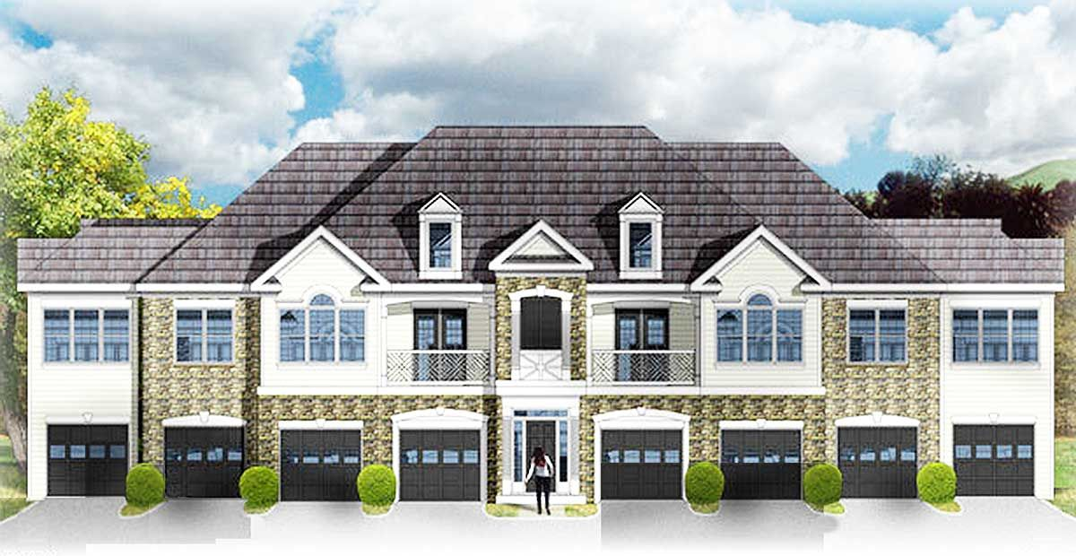 Plan 448DC Creative 48 Unit Apartment Building Dream Home Stunning Apartments Plans Designs Creative
