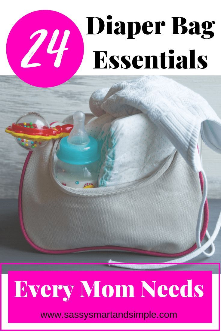 What should you put in your diaper bag? A diaper bag is ...