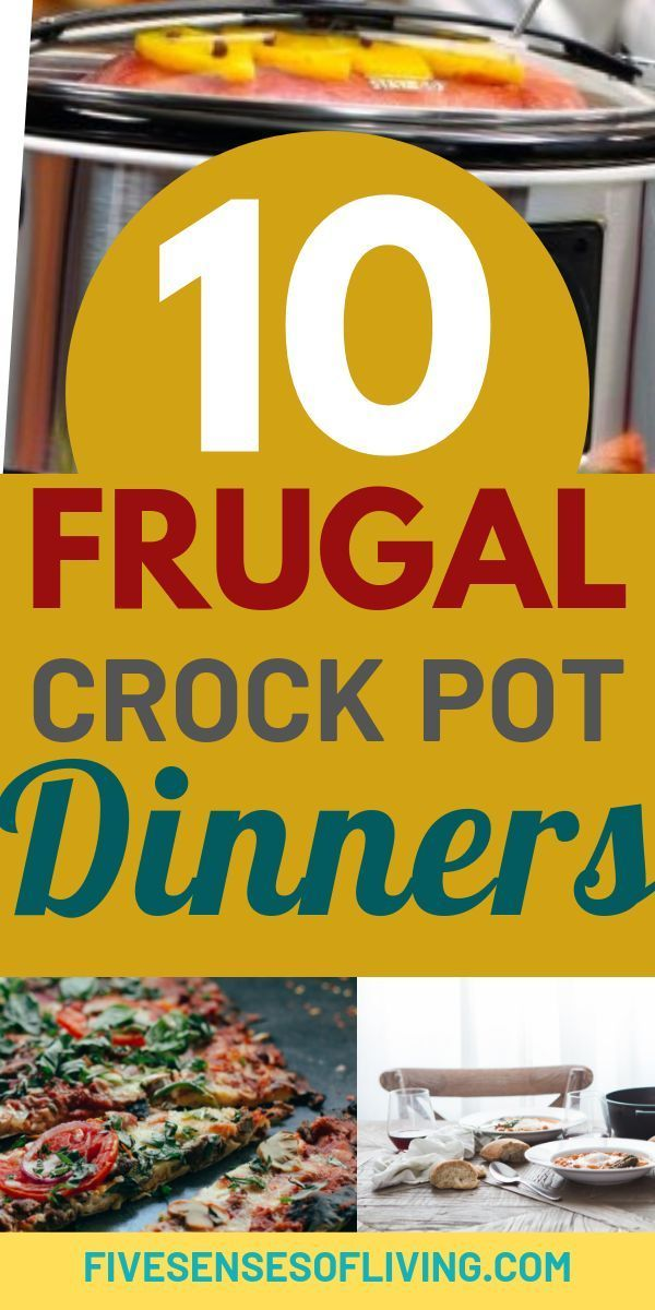 10 Cheap And Frugal Crock Pot Dinners That Are Sure To Please images