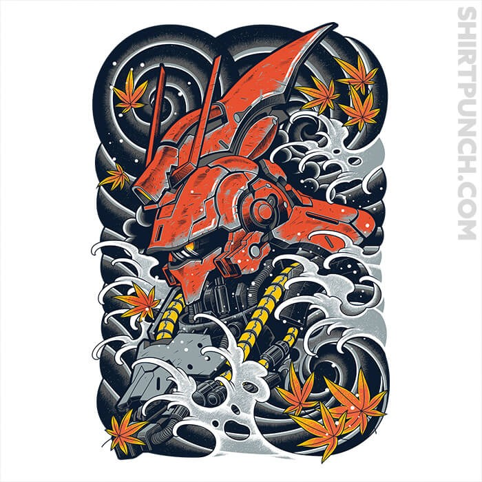 Char S Counterattack T Shirt Gundam Wallpapers Gundam Art Japan Tattoo Design