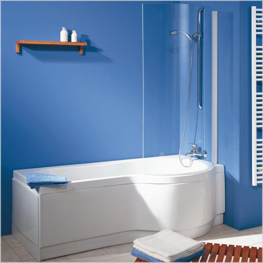 Schulte Schulte Komfort I Badewannenkombination Wanne mit Dusche ...