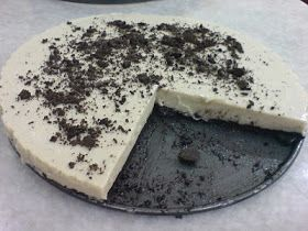 Sharz Cuisine: How to Make : Unbaked Oreo Cheese Cake