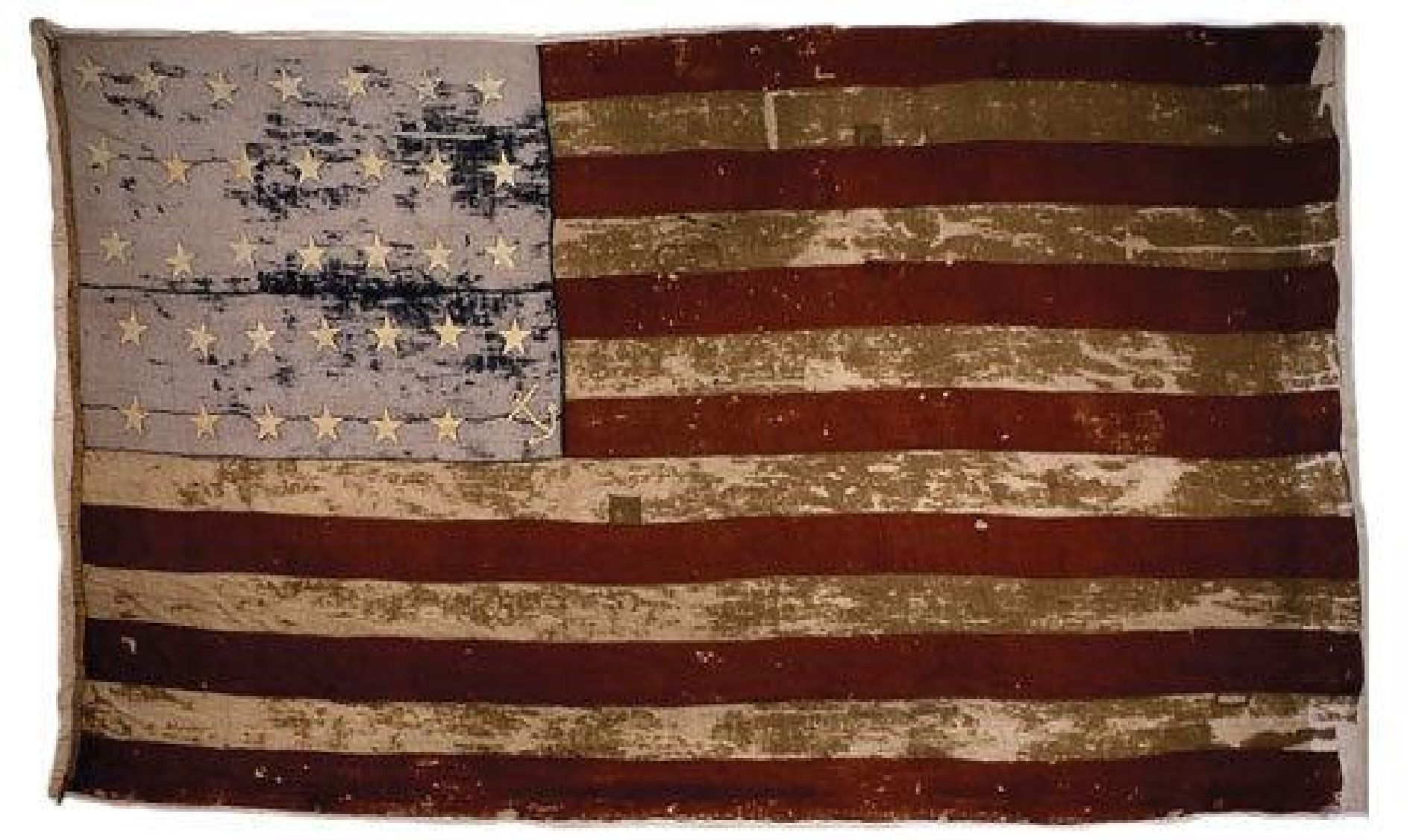 The American Sea Captain William Driver 1803 1886 Of Salem Massachusetts Flew This Flag Aboard His Ship Old Glory Flags Of Our Fathers Historical Flags