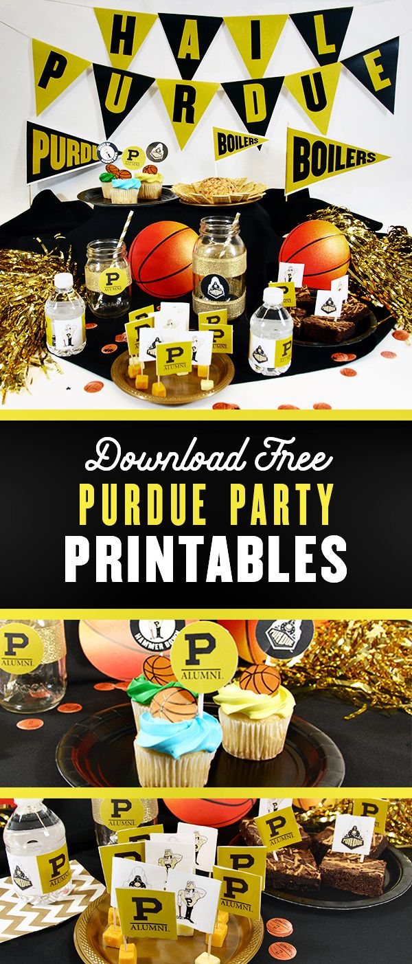 Color printing at purdue - Having A Purdue Themed Birthday Party Game Watch Or Celebration Check Out