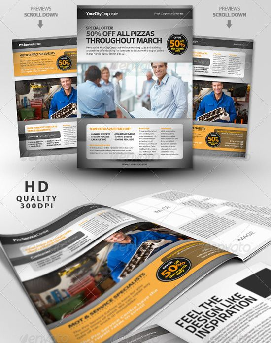 MagazineAdvertisementTemplate  Flyer    Business