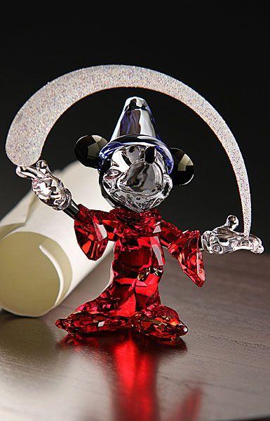 Mickeyfantasia Swarovski Crystal Figurines Disney Figurines Crystal Figurines