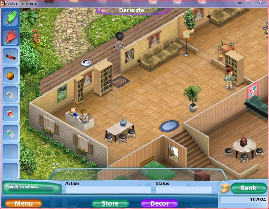 Virtual Families 2 House Upgrades Google Search House Design Games Design Your Dream House Virtual Families
