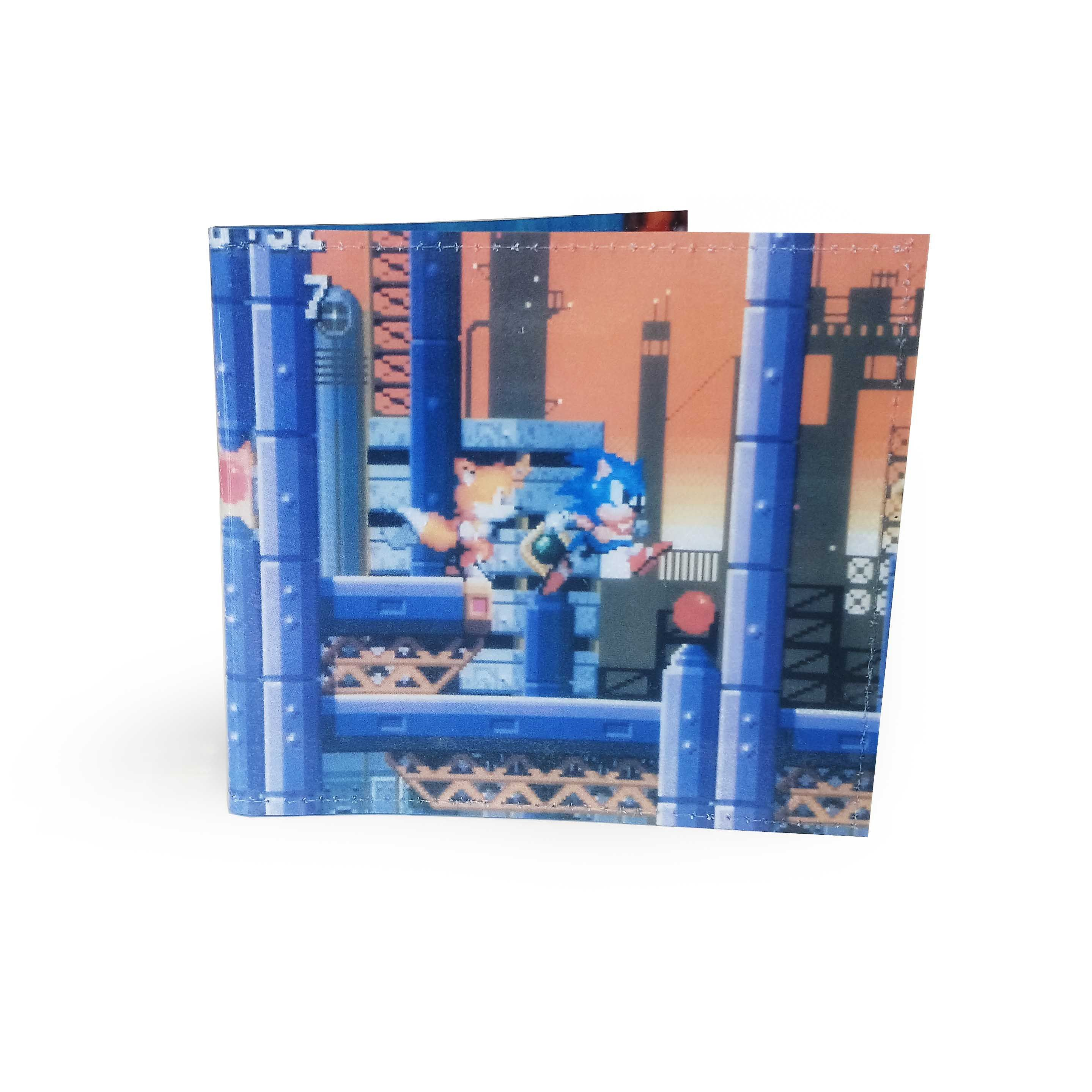 Sonic The Hedgehog Wallet Upcycled Comic In Pvc Comic Wallet Gamer Wallet Sonic The Hedgehog Jem The Holograms Calvin Hobbes Comics