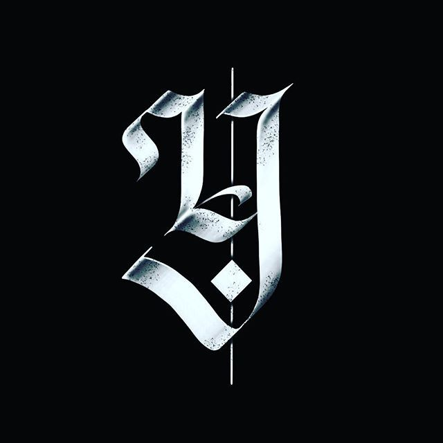 Letter Y Calligraphie Pinterest Letters Typography And Fonts