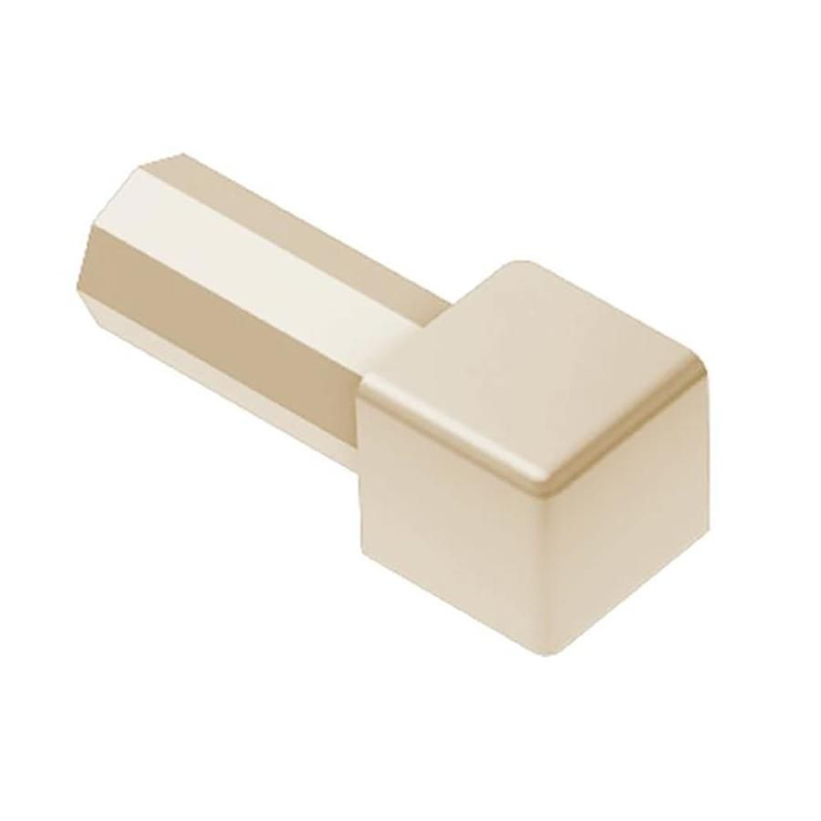 Schluter Systems Quadec 0 438 In W X 1 In L Pvc Tile Edge Trim E Pq110bh Tile Edge Lowes Home Improvements Tiles