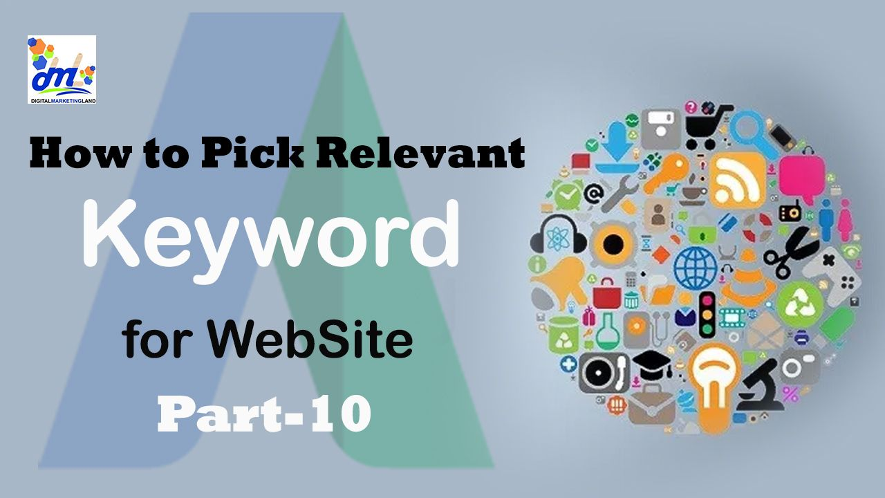 How to Pick Relevant Keyword for website in Hindi