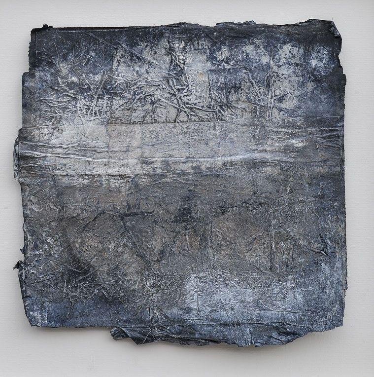 Galerie/Papierobjekte/Papierarbeiten/Arbeiten auf Holz - Bettina Hachmann