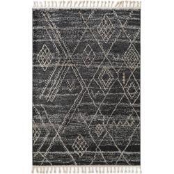 Photo of benuta short pile carpet Bela dark gray 120×180 cm – modern carpet for living room benuta