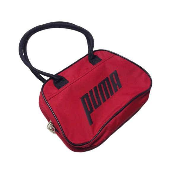 727f4ac264 90s Puma Bag! Top handle carry Puma Sport Bag Puma Vintage. Puma. Red