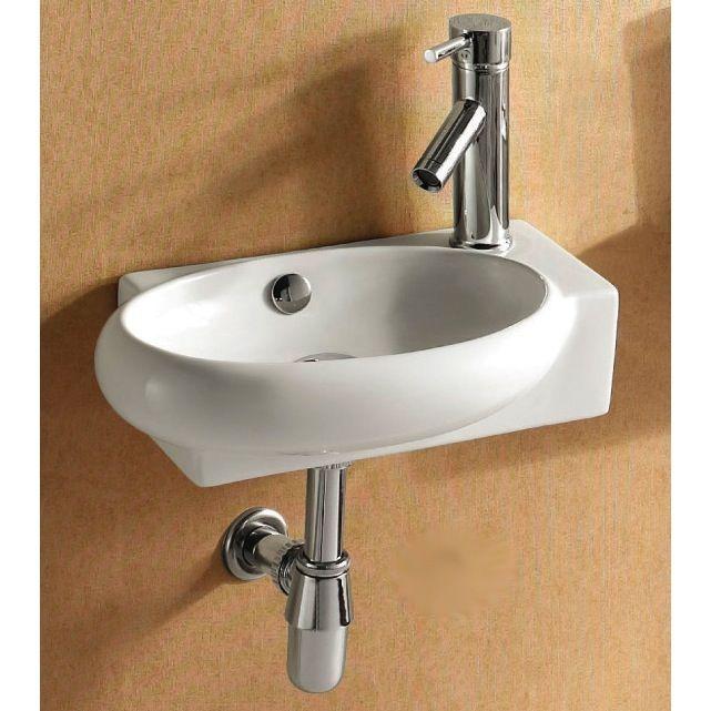 Bathroom Sink Caracalla Ca4522b Round White Ceramic Wall Mounted Or Vessel Bathroom Sink Ca4522b Wall Mounted Bathroom Sink Bathroom Sink Sink