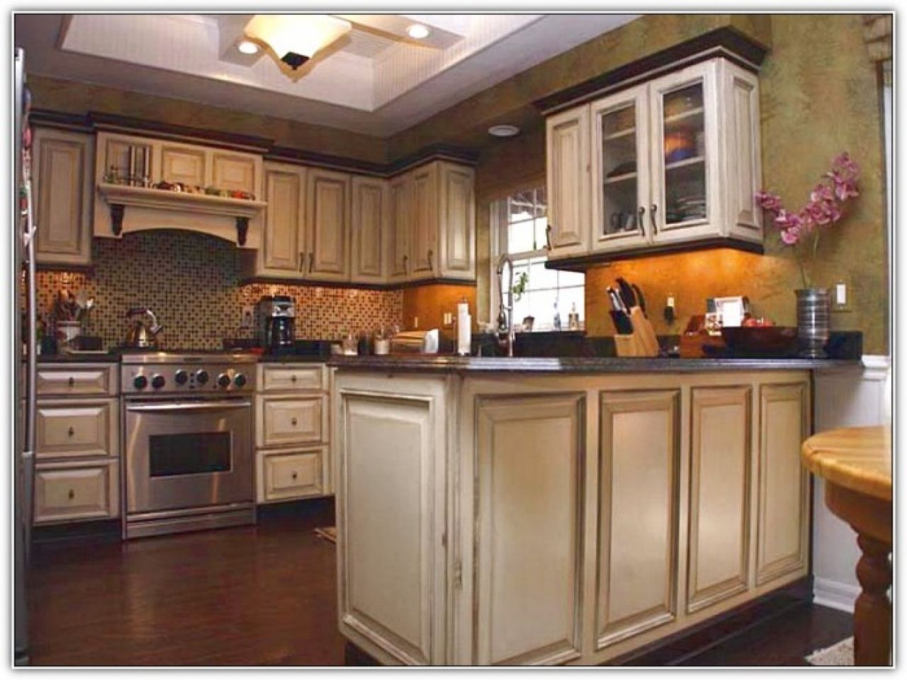 Redo Kitchen Cabinets Amazing Refinishing Ideas Ljve Me In Dalehollowlakeviews Pertaining To Redoing In 2020 Redo Kitchen Cabinets Kitchen Redo Kitchen Cabinet Colors