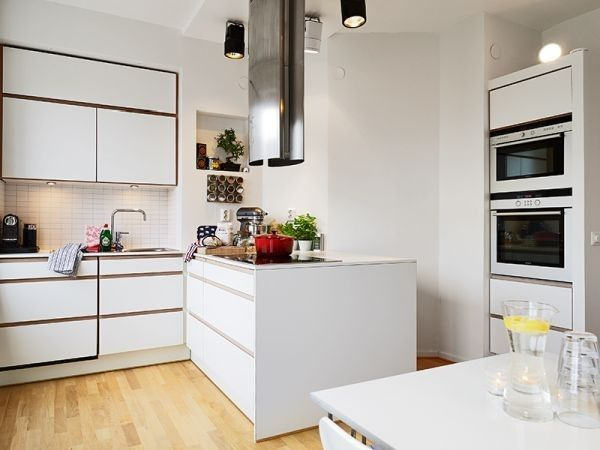 50 Scandinavian Kitchen Design Ideas For A Stylish Cooking Environment Built In Appliances And Hidden Storage Spaces Are Also Common Features Of This Style