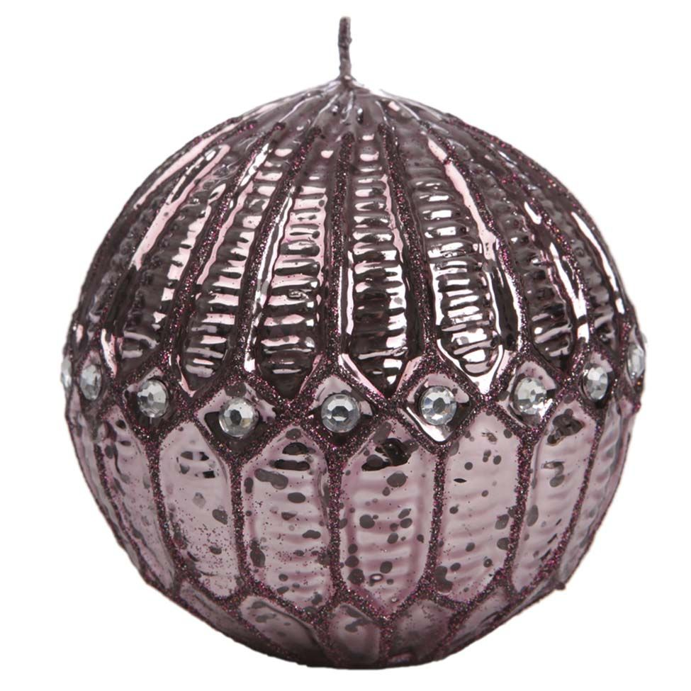 Vela decorativa purple effect - 10cm | Westwing - Casa & Decoração