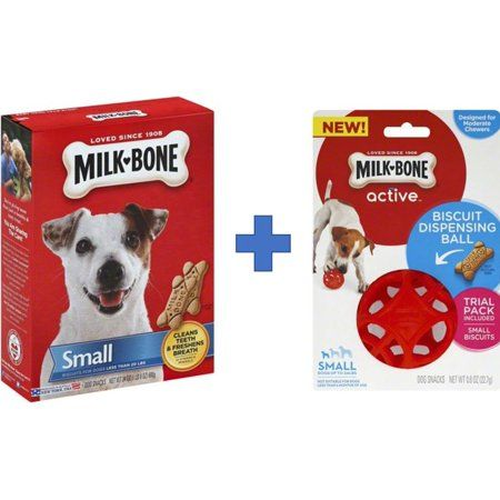 Bundle And Save Milk Bone Biscuit Dispensing Ball Interactive