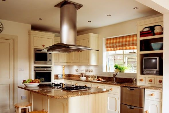Love The Stove Being On Island But Would Want A Raised Bar Area For