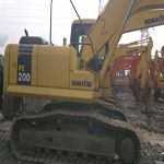 This Komatsu excavator of second hand is new like that it is very clean and good in appearance. It also has .