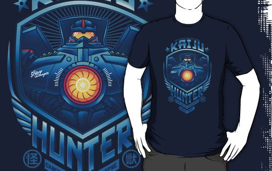 Kaiju Hunter by Bamboota ~ RedBubble...Buying this for Raughley.