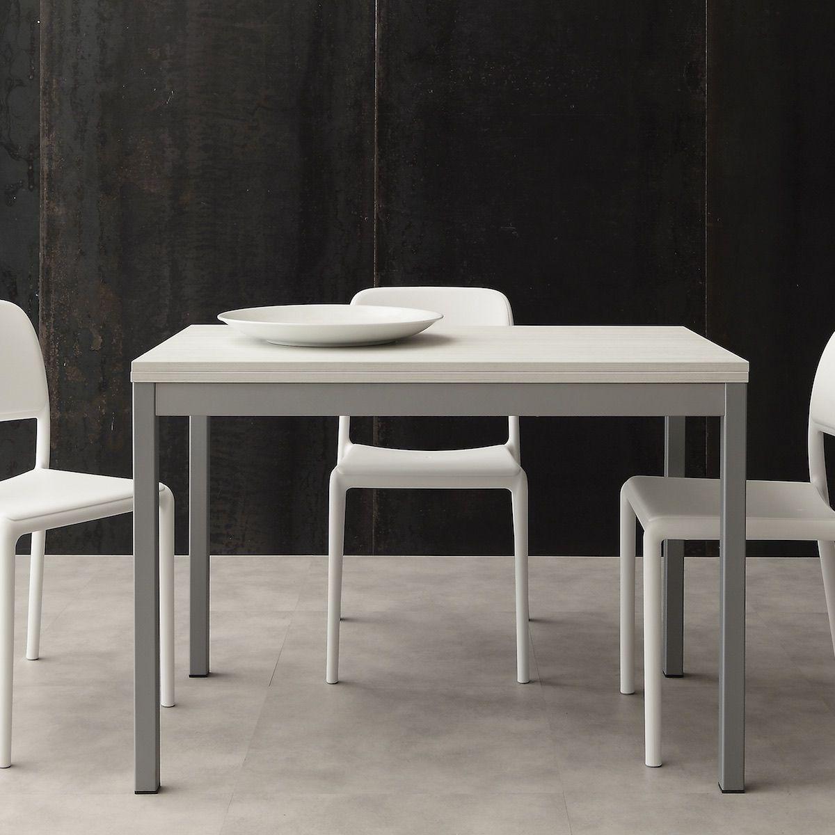 Tavolo Quadrato A Libro.Tavolo Quadrato Allungabile Design Moderno Conrado Tavolo