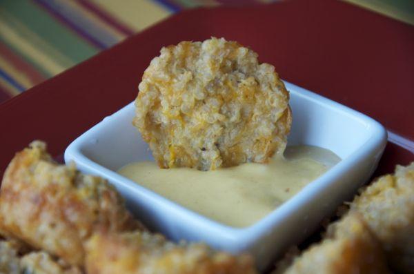 baked quinoa snacks