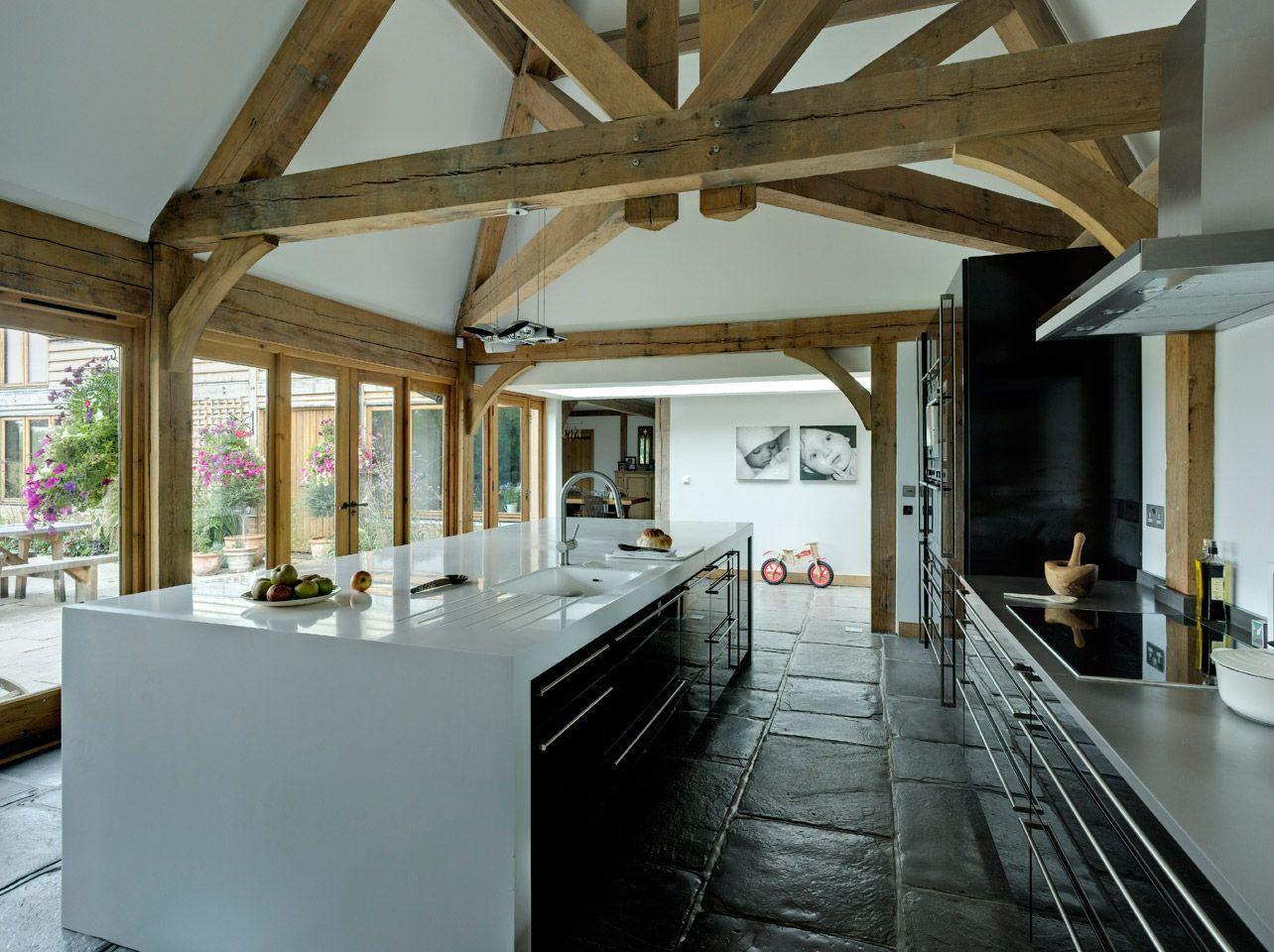 Barns & Contemporary - Border Oak - oak framed houses, oak framed ...