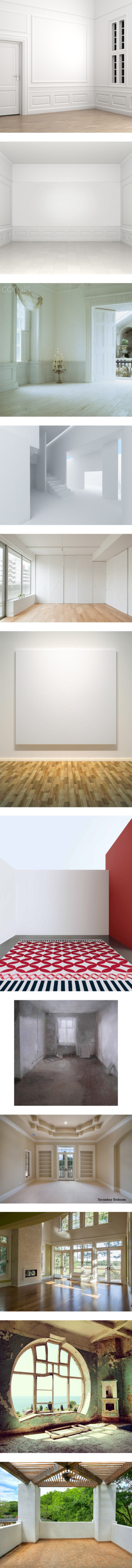 Empty Rooms 100 By Troff On Polyvore Featuring Rooms