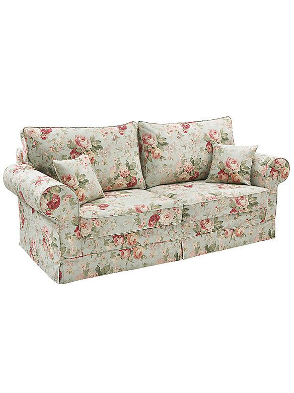 Sofa Rose Im Heine Online Shop Kaufen Home Floral Sofa Floral Couch