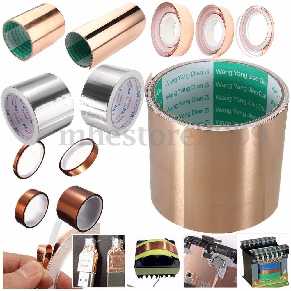 Polyimide High Temperature Copper Copper Foil Tape Self