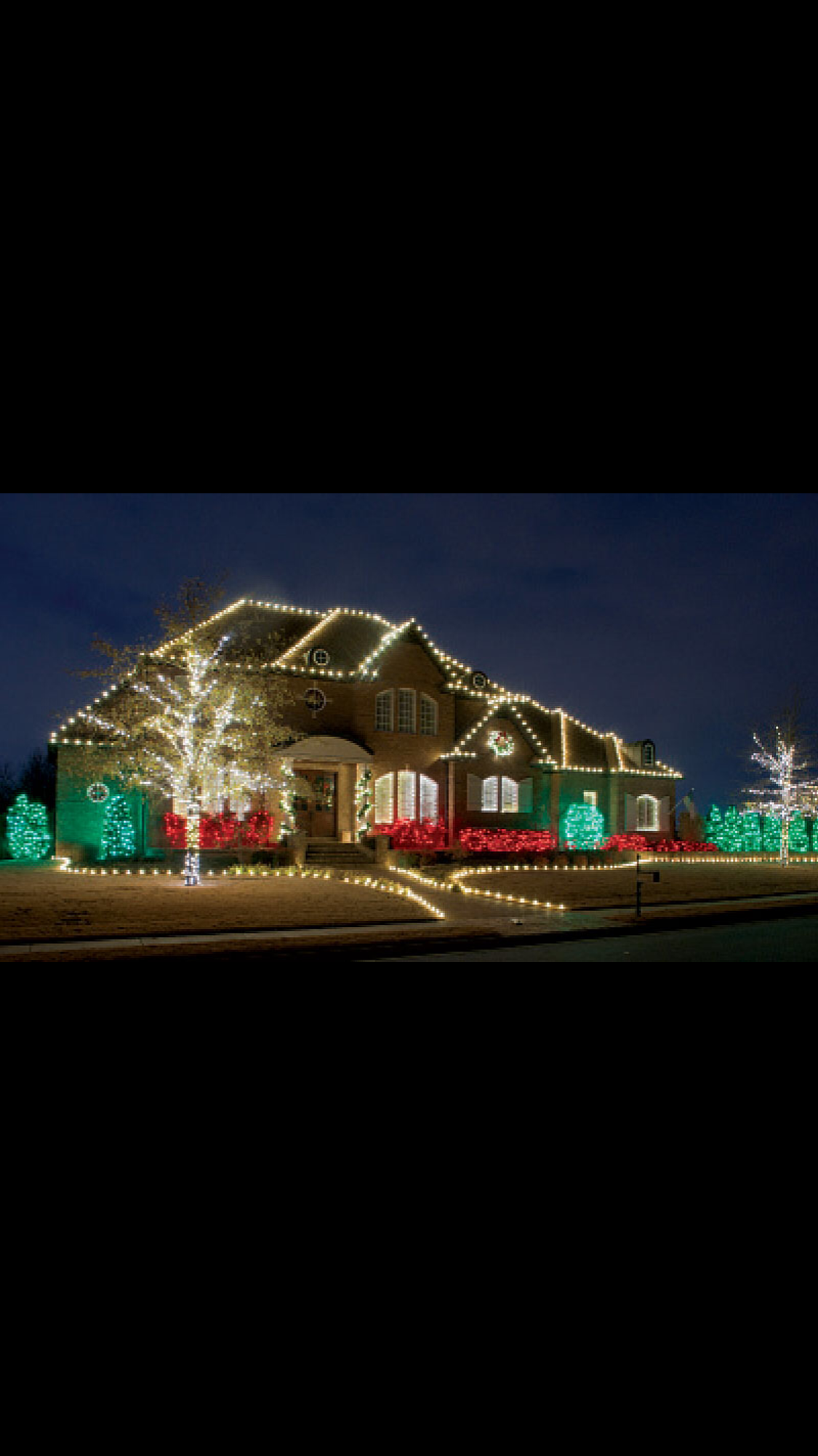 Idea by Peachy Goebel on Outdoor christmas lights