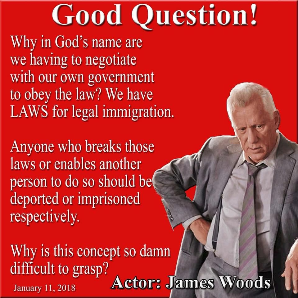 Woods Quotes: James Woods Should Be Running California!
