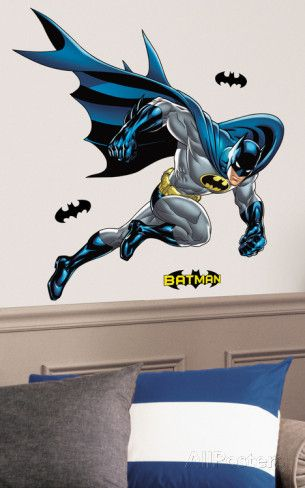 Batman Bold Justice Peel & Stick Giant Wall Decal Wall Decal at AllPosters.com