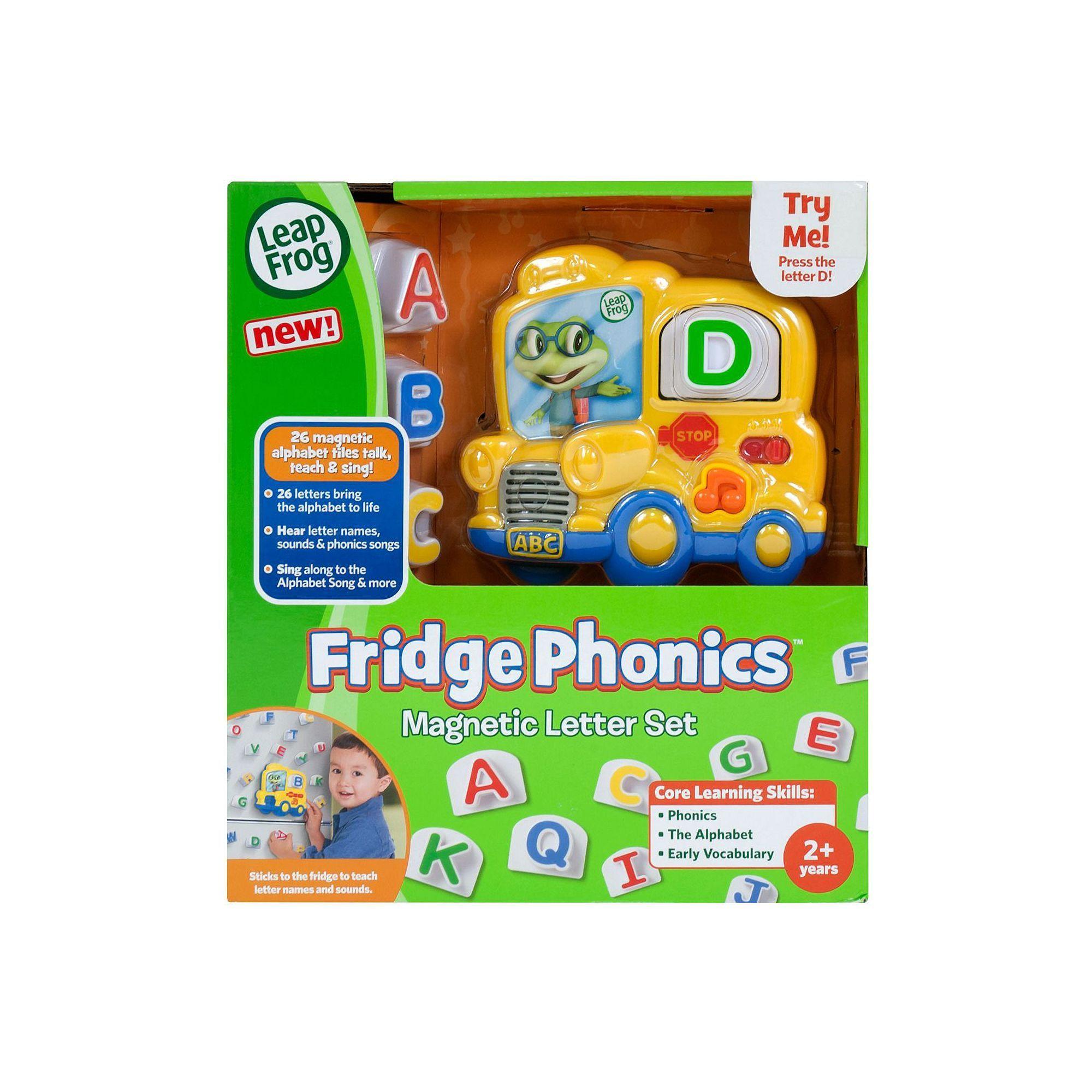 Leapfrog Fridge Phonics Magnetic Letter Set Products Pinterest