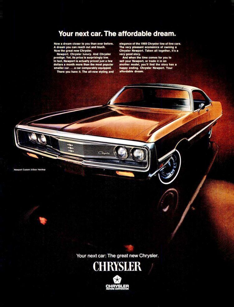 Classic Chrysler Newport cars from the '60s & '70s – Click Americana