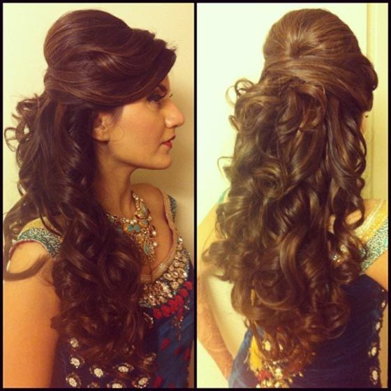 Hairstyles For Curly Hair Indian Curly Hairstyles Hairstylesforcurlyhair Indian Hairwavycurls Hair Highlights Long Hair Trends Hair Highlight Trends