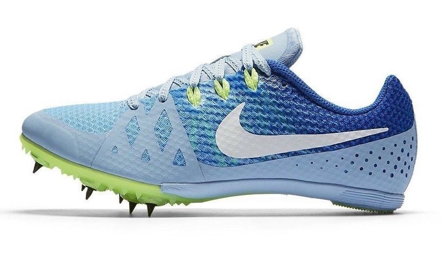 0f467e86dc49c NIKE Zoom Rival M Track Running Spikes Shoes Women s Size 9.5 Blue  Nike   Trackrunningspikesshoes