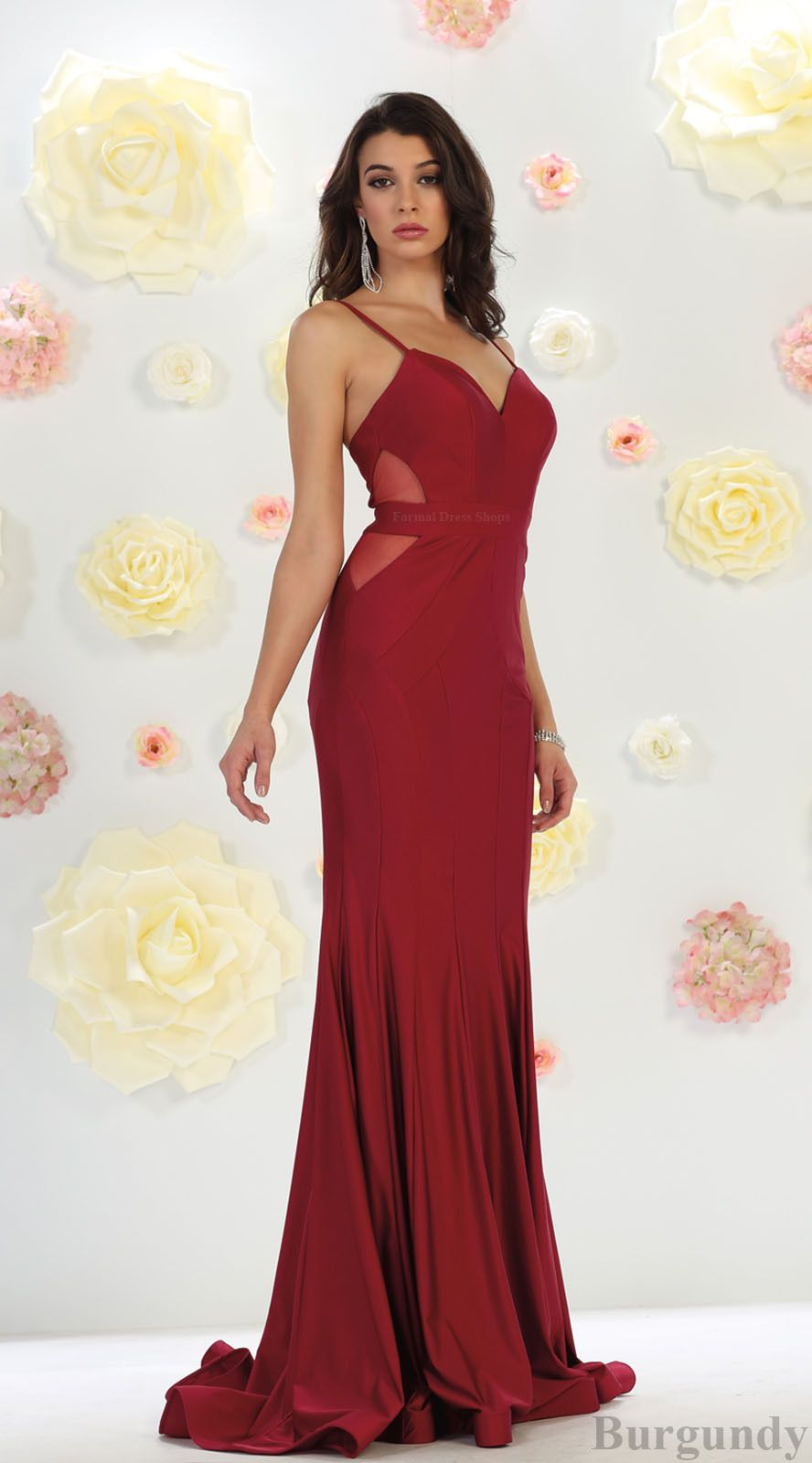 Sale Red Carpet Mermaid Prom Pageant Dress Special Occasion Evening ...
