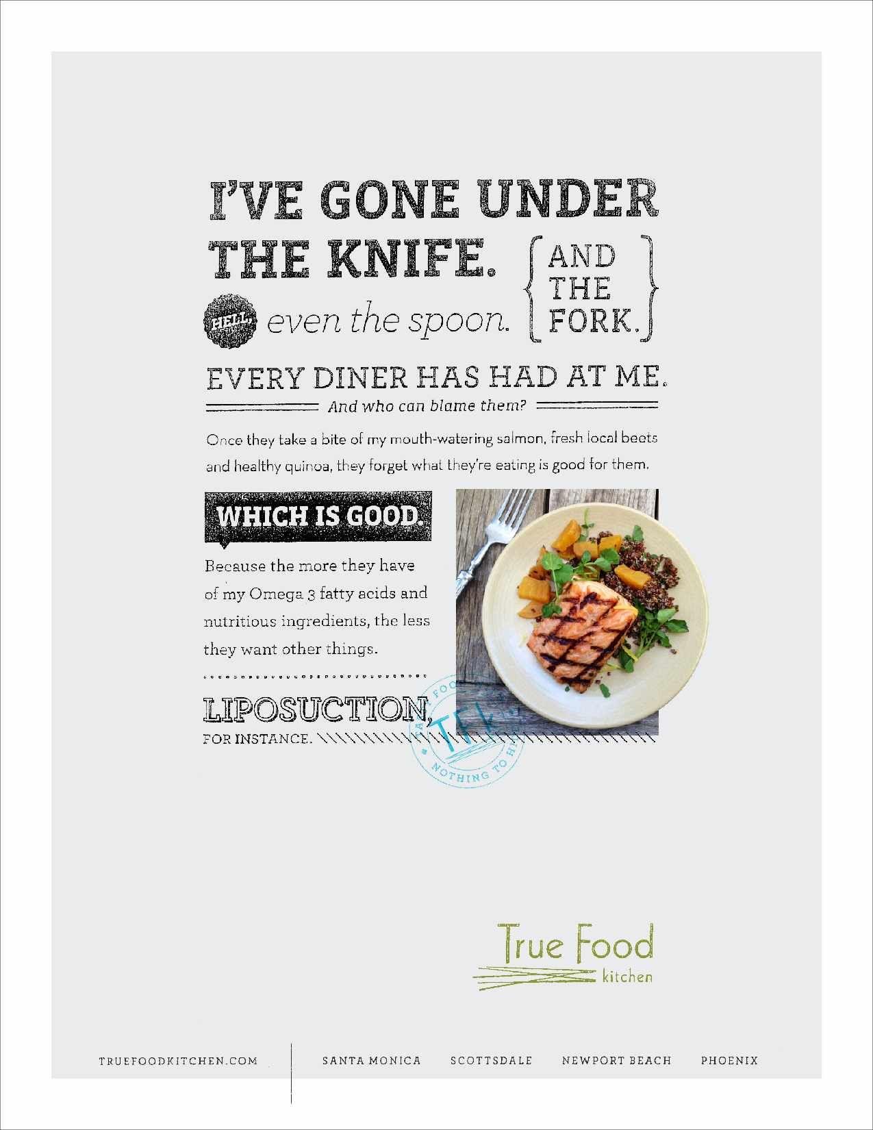 True food kitchen salmon advertising pinterest true food true food kitchen salmon forumfinder Gallery