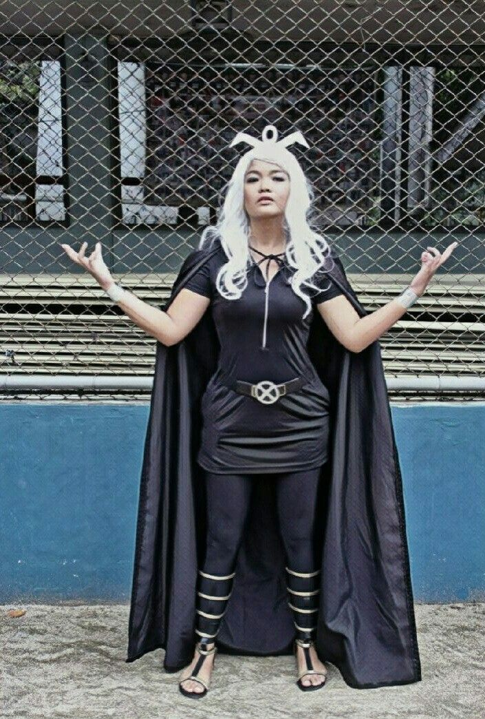 My Version Of X Men Storm Costume Diy Storm Pinay