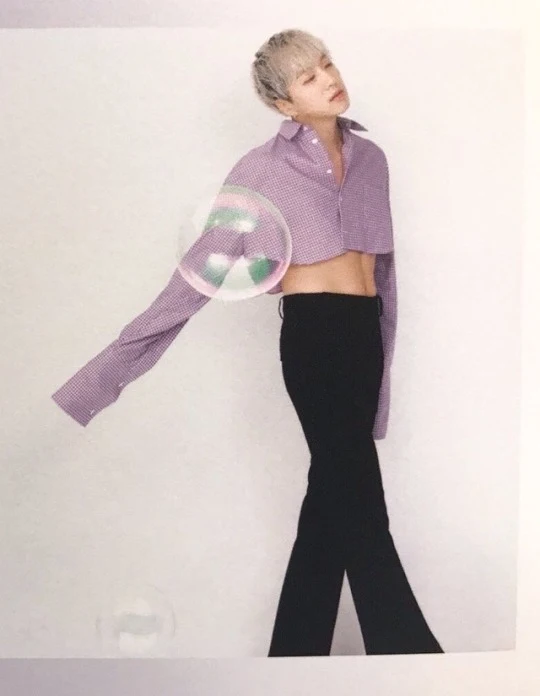 10 Male Idols Who Looked Better In Crop Top Than Anyone Expected Koreaboo Gender Fluid Fashion Feminine Outfit Outfits